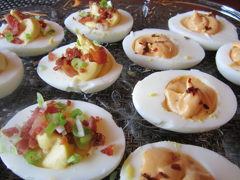 eggs gre a t deviled eggs trio of deviled eggs course meal complete ...