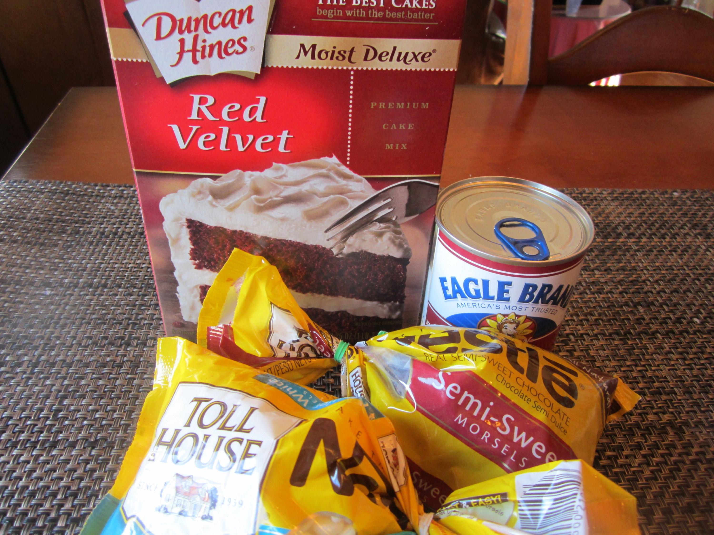 ... Dinnertime Dish for Great Recipes! – Red Velvet Cake Batter Truffles