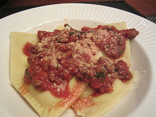 A great tomato meat sauce