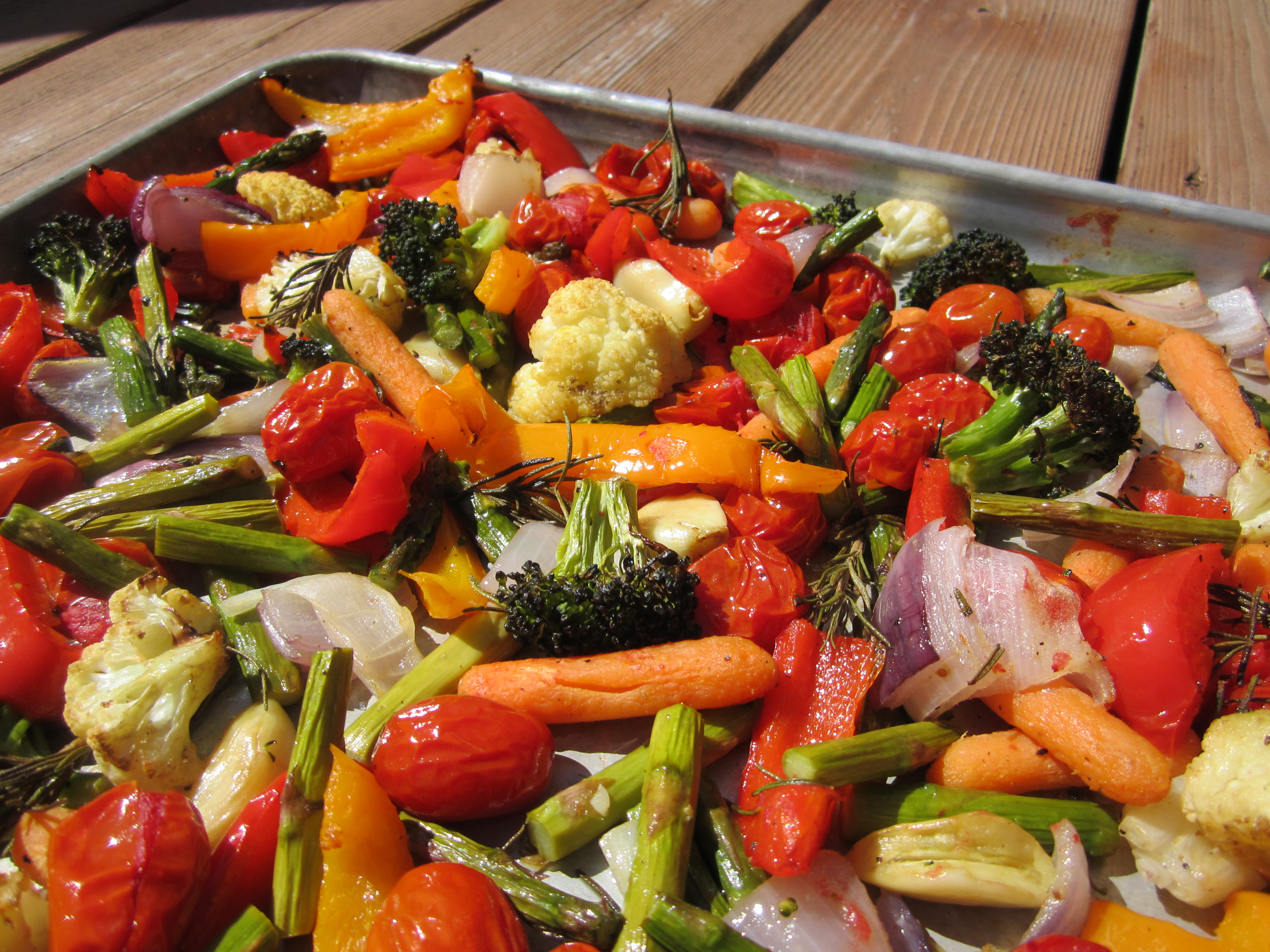 with roasted vegetables moroccan mint roasted vegetables herb roasted ...