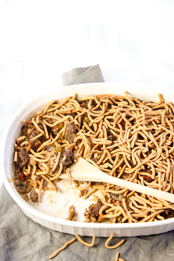 A Blast from the Past, Chowmein Casserole