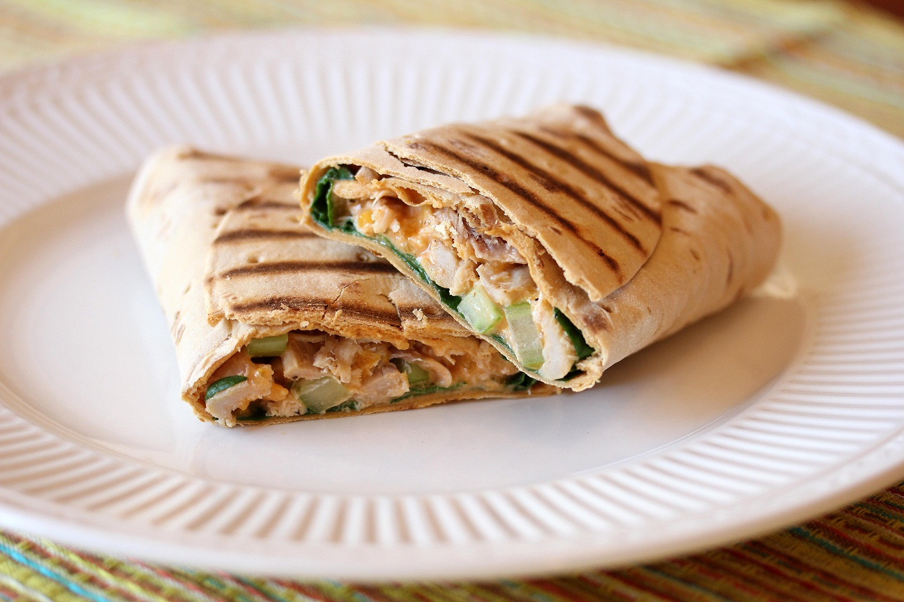 ... Dish for Great Recipes! – Buffalo Chicken Wraps – Dinner in a Snap