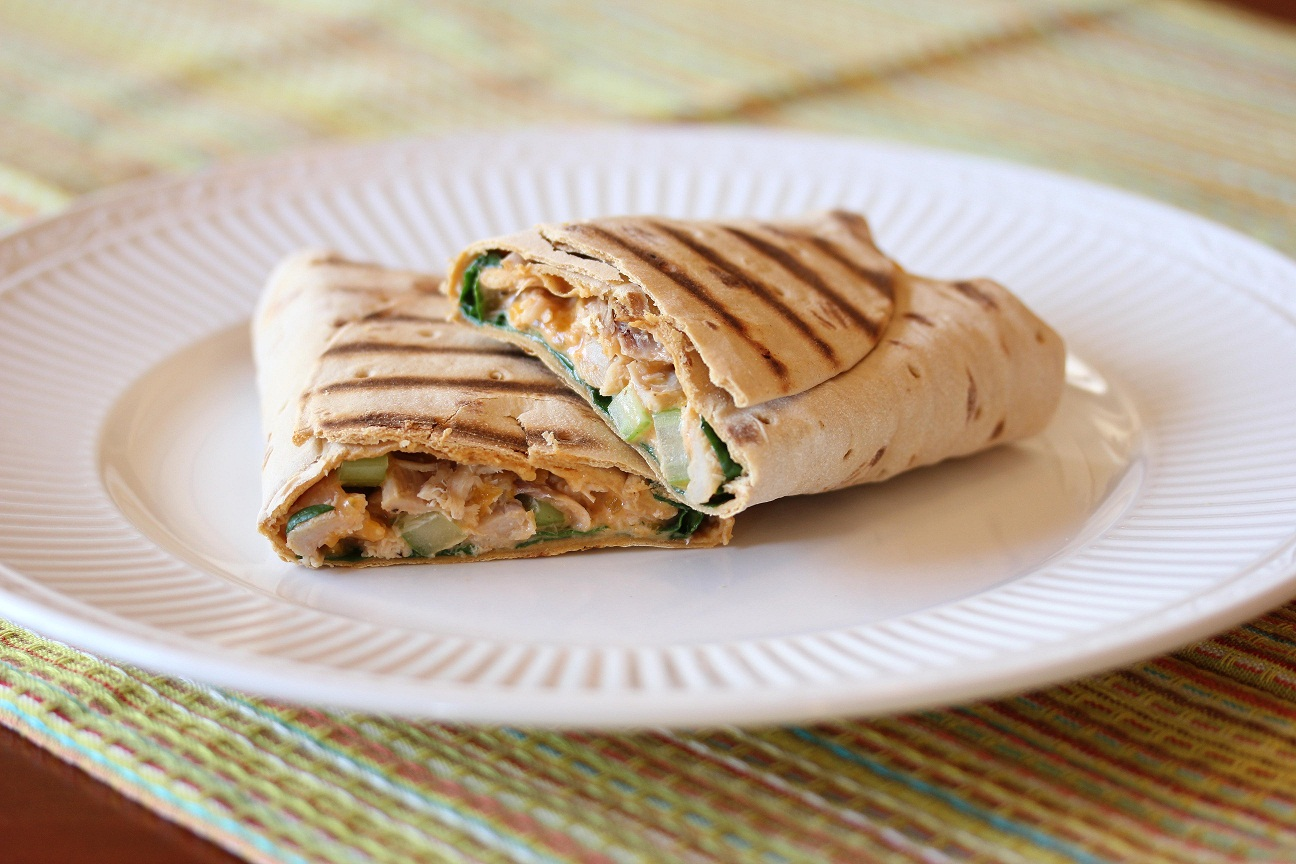 Buffalo Chicken Wraps Recipe Pictures to pin on Pinterest