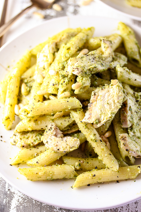 Grilled Chicken Pesto Pasta Lisa S Dinnertime Dish