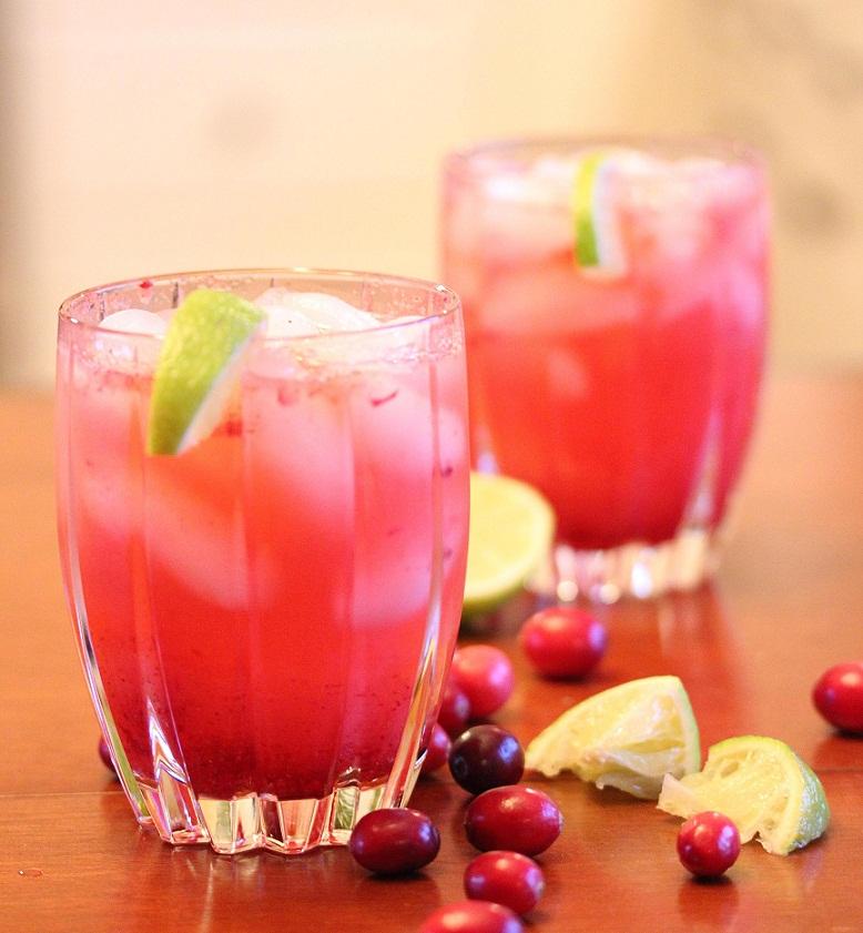Cranberry Vodka Spritzer (4)