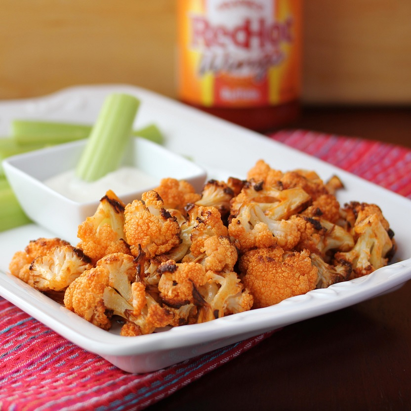 ... Dinnertime Dish for Great Recipes! – Roasted Buffalo Cauliflower