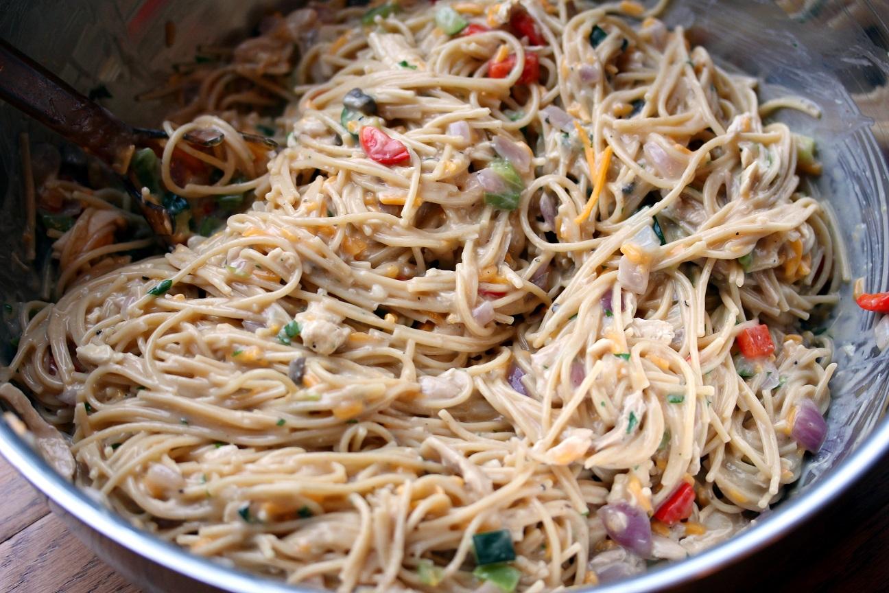 ... Dinnertime Dish for Great Recipes! – Chicken Spaghetti Casserole