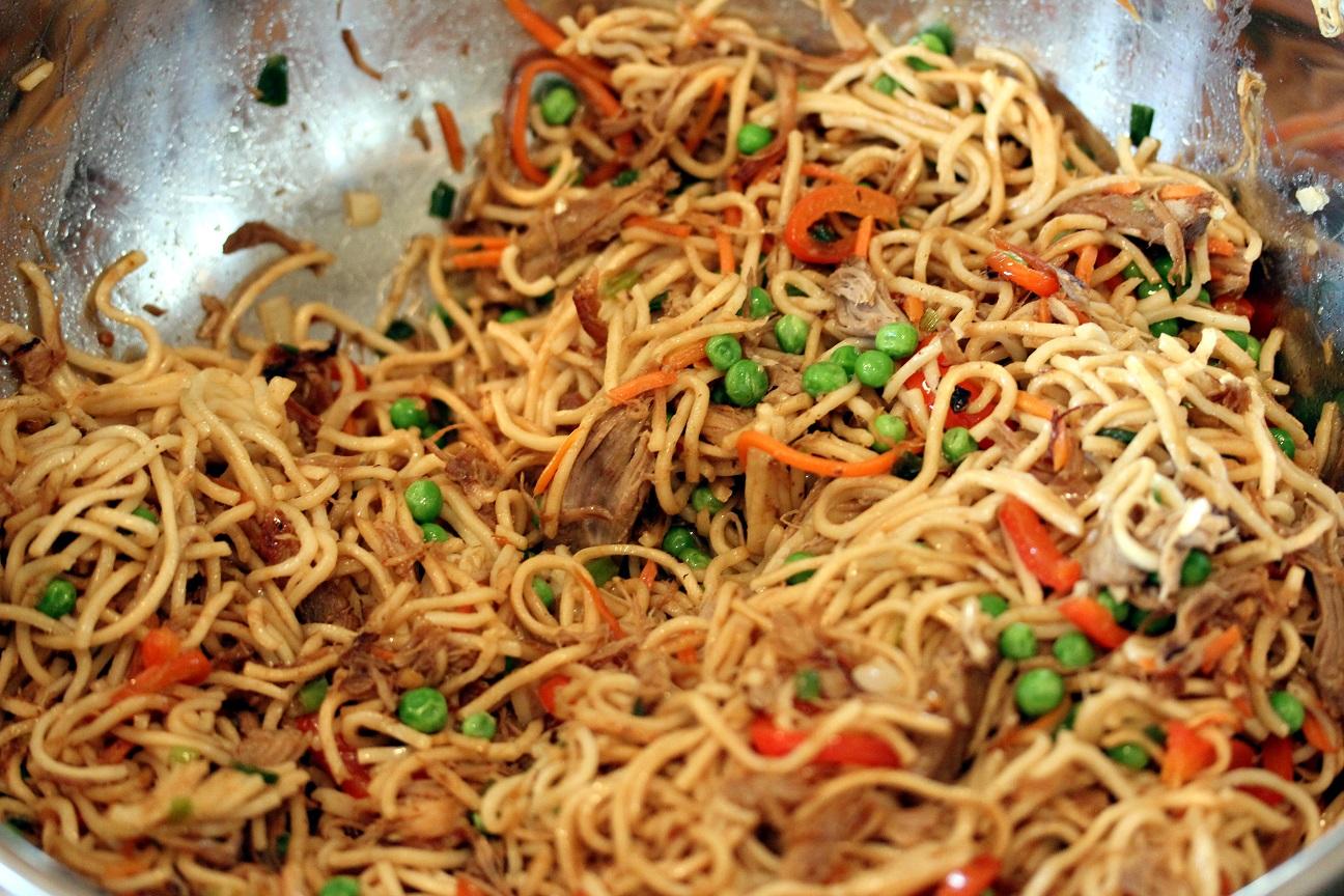 Lo Mein Noodles Pork lo mein