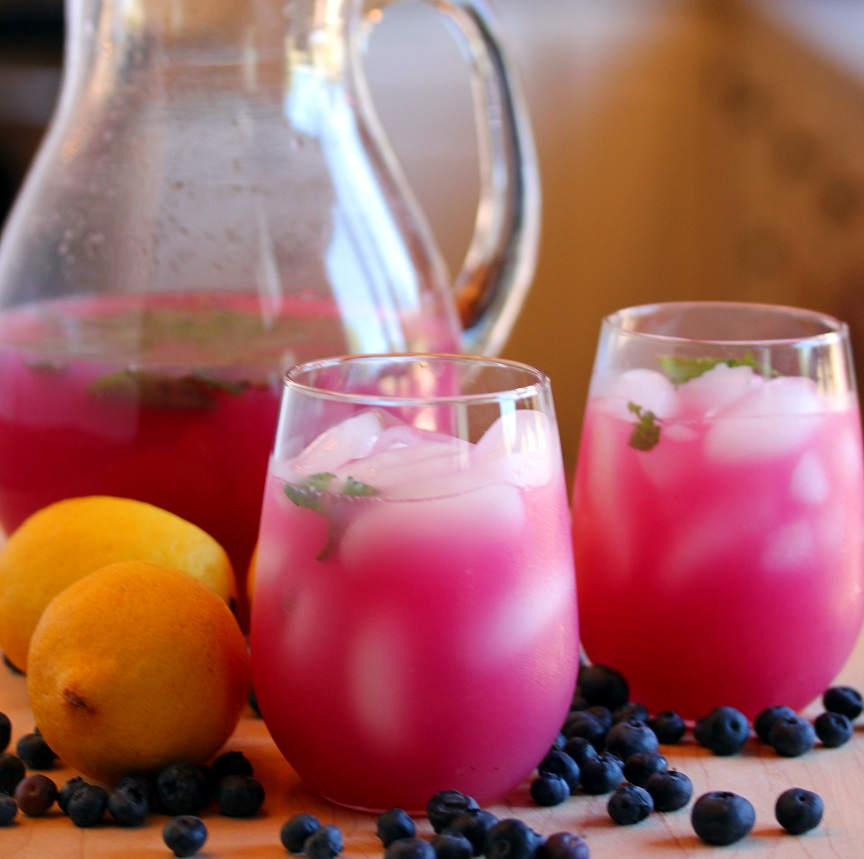 blueberry mint lemonade blueberry mint lemonade of blueberry mint