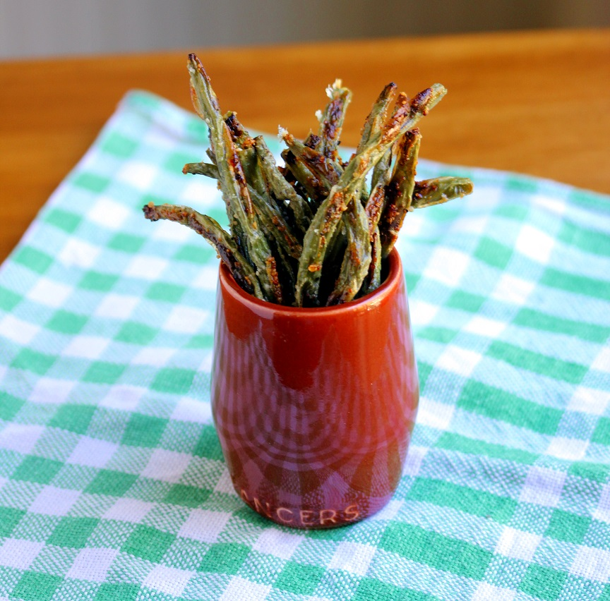 """... Dinnertime Dish for Great Recipes! – Parmesan Green Bean """"Fries"""