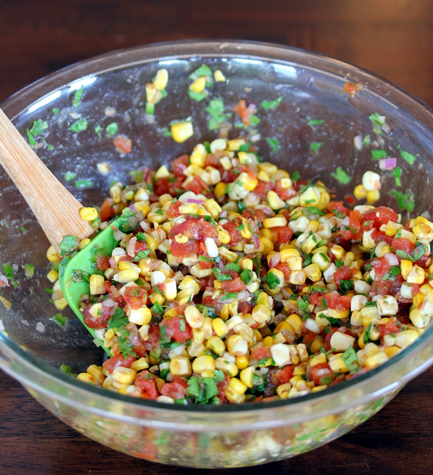 ... Dish for Great Recipes! – Pan Seared Tilapia with Spicy Corn Salsa