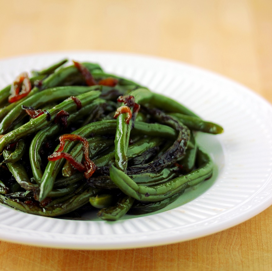 ... Dish for Great Recipes! – Green Beans with Crispy Shallots