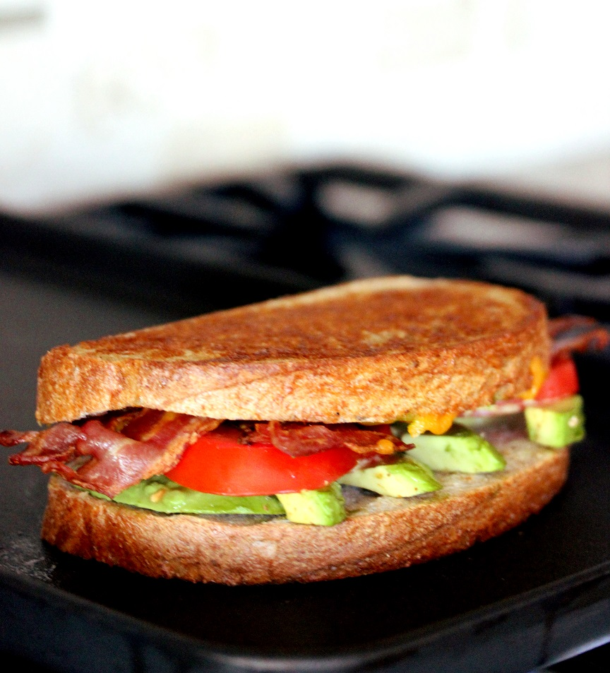 ... for Great Recipes! – Grilled Bacon Tomato and Avocado (BTA) Sandwich