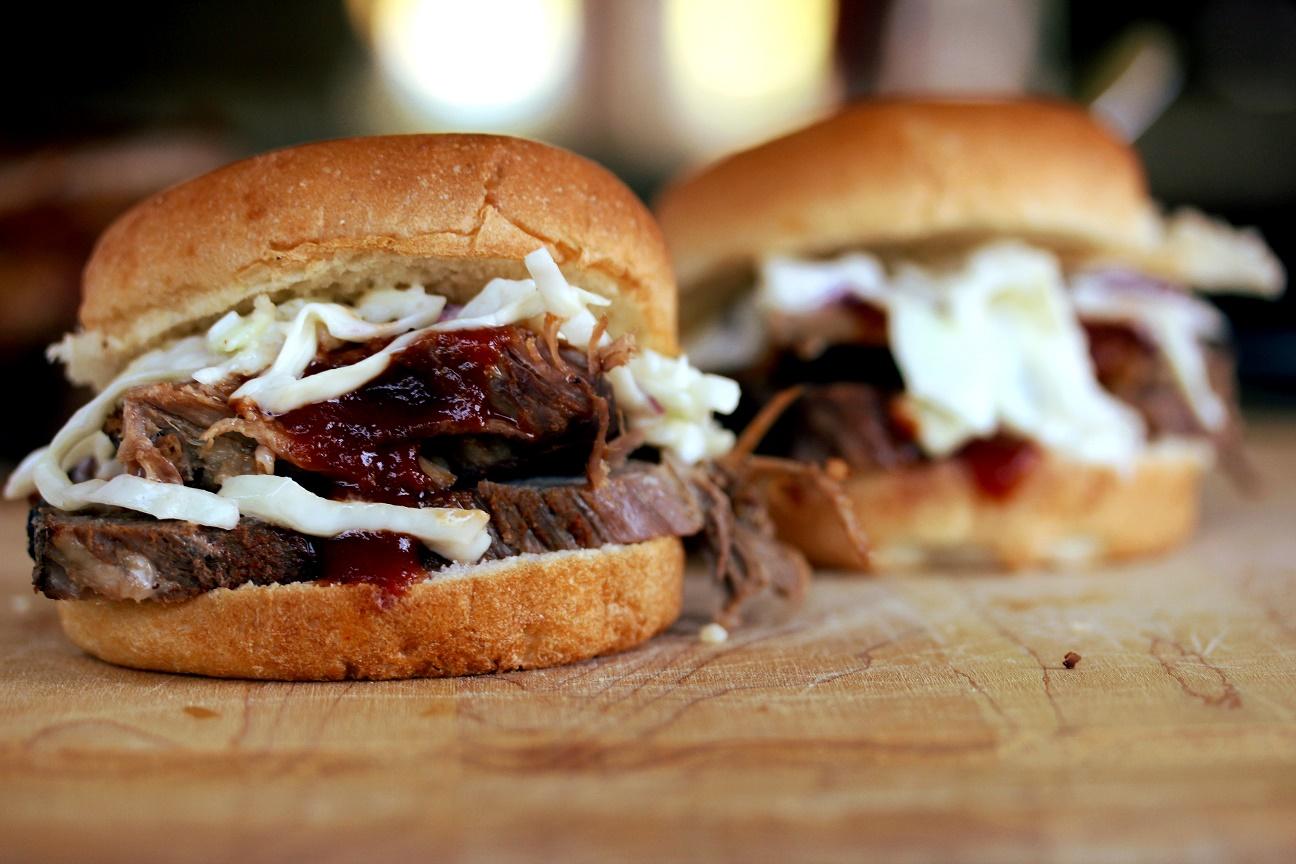 Slow Cooker Barbecue Brisket Sliders - Lisa's Dinnertime Dish for ...