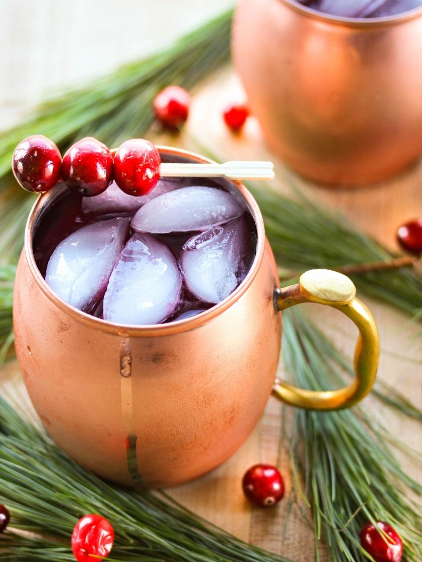 Lisa's Dinnertime Dish: Cranberry Christmas Mule