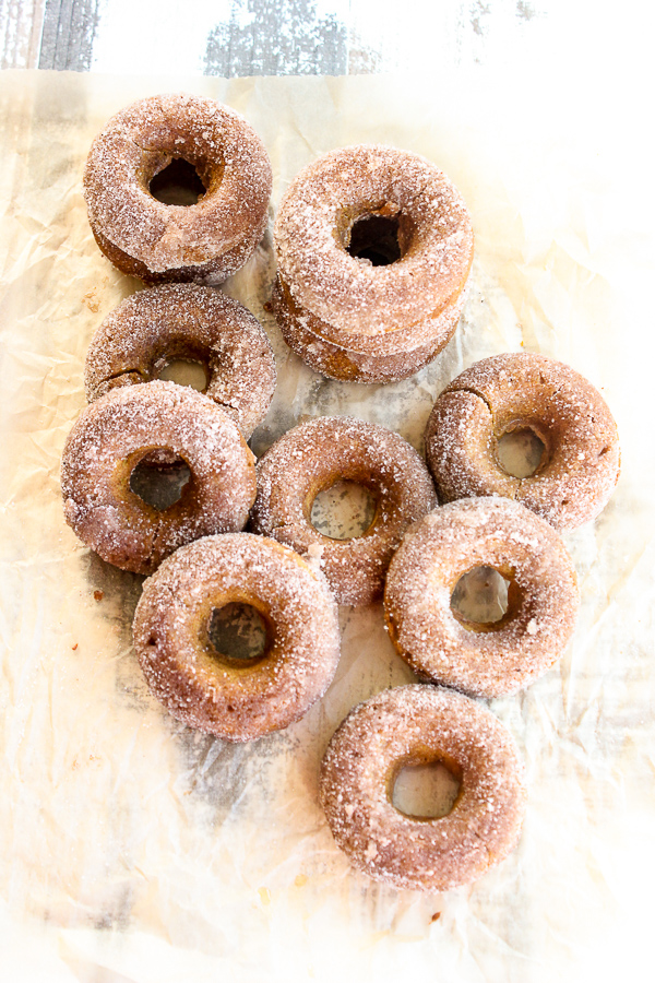 Baked Pumpkin Spice Donuts are a delicious autumn breakfast treat with a tender, moist texture and wonderfully spiced flavor you're sure to love.