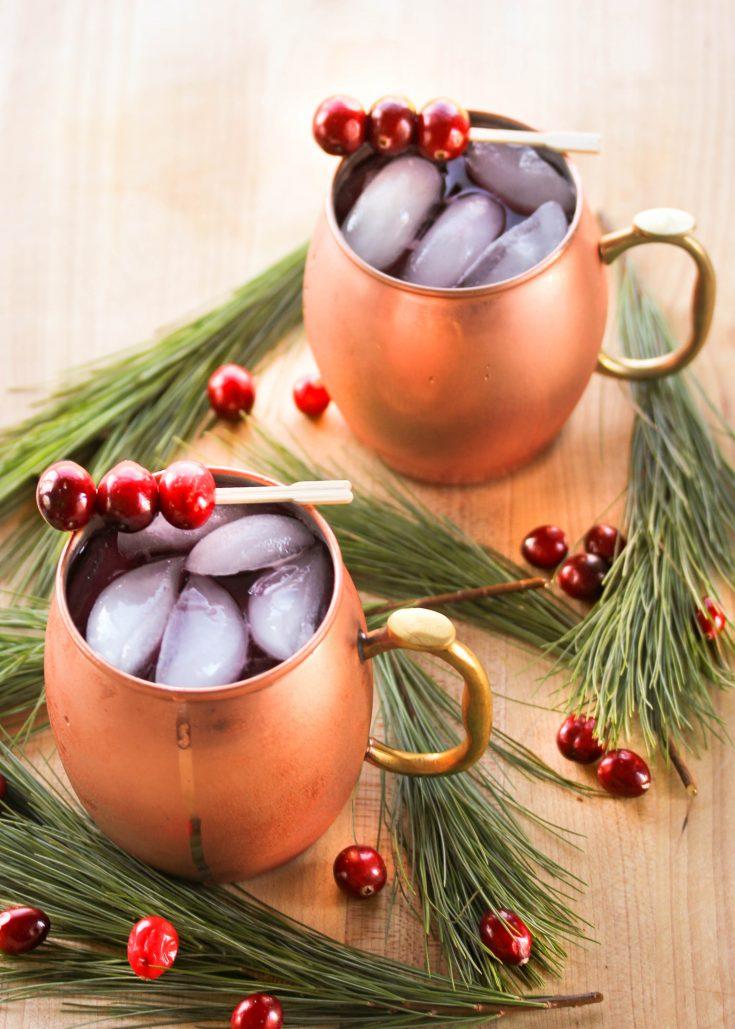 Cranberry Christmas Mule